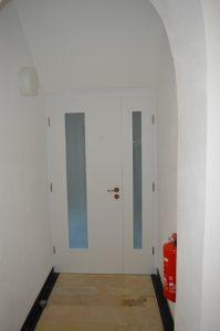 Zimmertüre mit Seitenteil