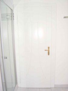 Aufarbeitung einer denkmalgeschützten Türe