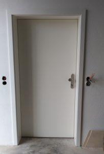 Zimmertüre mit A-Öffner für Fingerprint