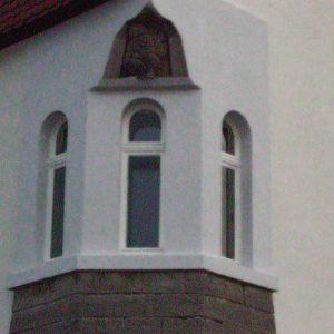 renovierte denkmalgeschützte Fenster