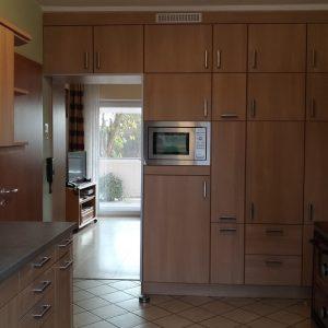 Erneuern der Fronten udn Arbeitsplatte an einer bestehenden Küche