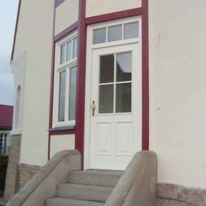 Haustüre für denkmalgeschützte Villa